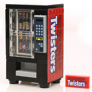 Custom LEGO Twisters Candy Vending Machine