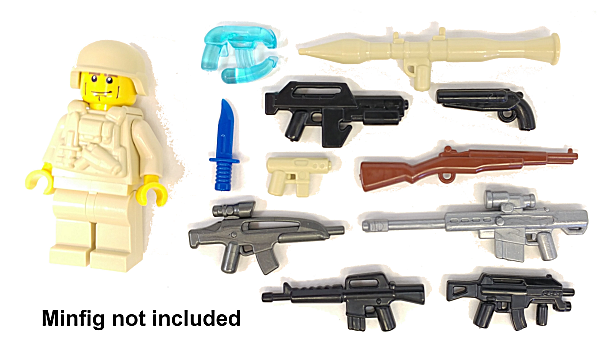 BrickArms Value Pack #10