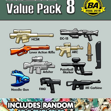 BrickArms Value Pack #8
