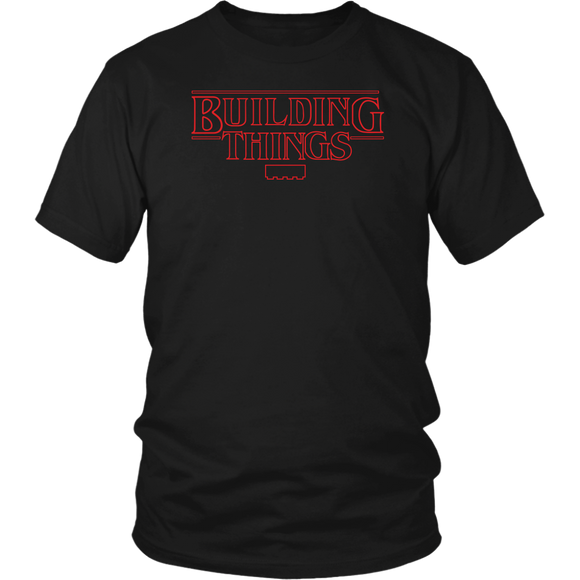 Building Things Brick Tee