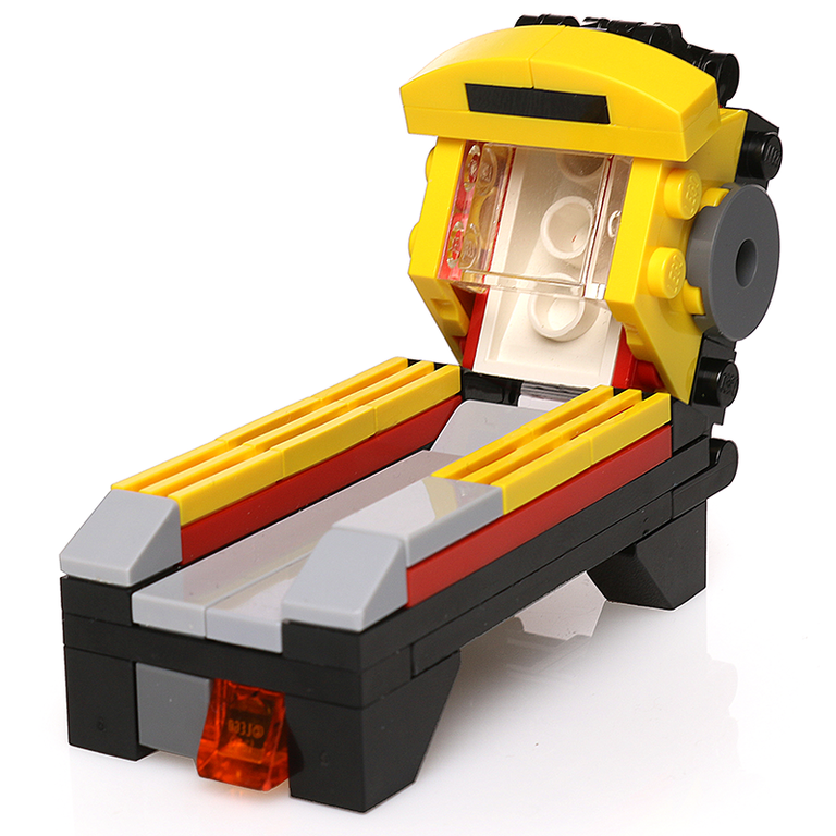 Custom LEGO Skeeball Arcade Machine