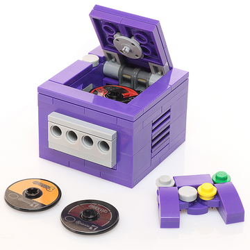 Custom LEGO Pretendo BrickCube Video Game Console