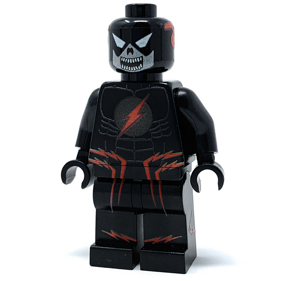 Black Flash - Custom LEGO Minifigure w/ Display Case