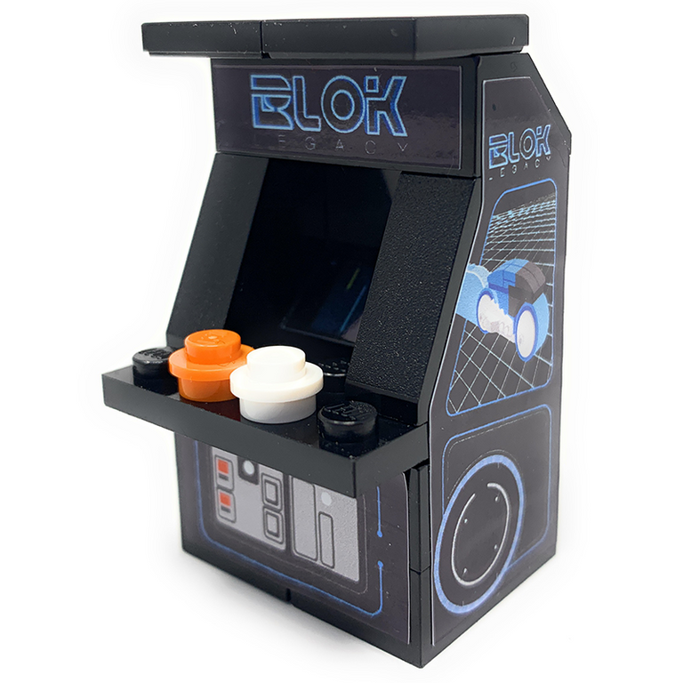 Custom LEGO BLOK Legacy Arcade Machine