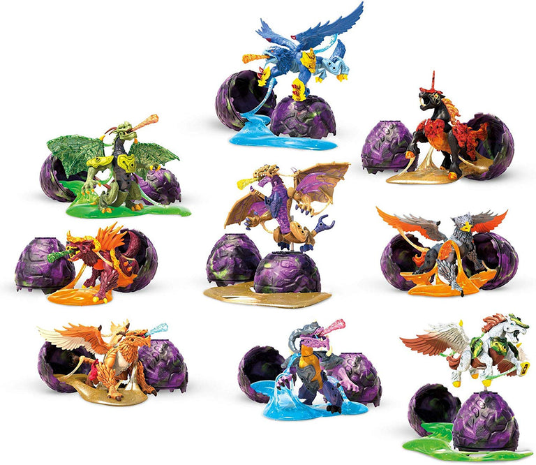 Breakout Beasts Egg (Series 3) w/ Slime - Mega Construx Set