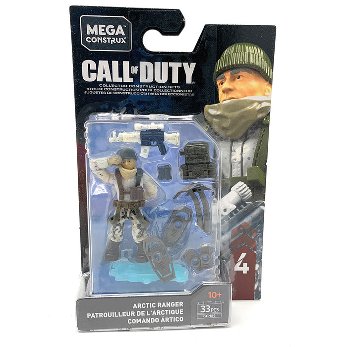 Arctic Ranger - Mega Construx Call of Duty Specialist Series 4 Figure Pack