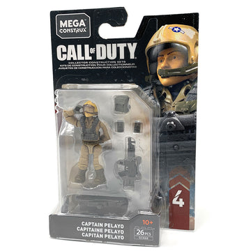 Captain Pelayo - Mega Construx Call of Duty Specialist Series 4 Figure Pack