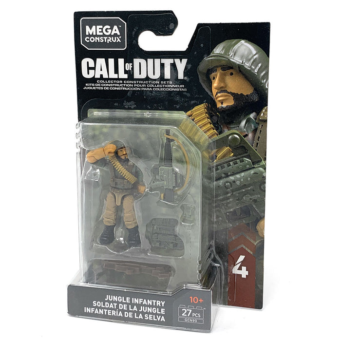 Jungle Infantry - Mega Construx Call of Duty Specialist Series 4 Figure Pack