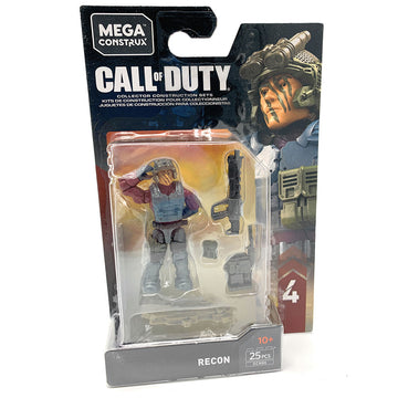 Recon - Mega Construx Call of Duty Specialist Series 4 Figure Pack