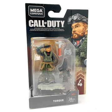 Torque - Mega Construx Call of Duty Specialist Series 4 Figure Pack