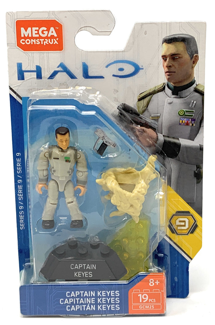 Captain Keyes - Mega Construx Halo Heroes Series 9 Figure Pack