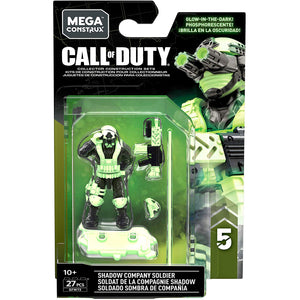 Shadow Company Soldier - Mega Construx Call of Duty Specialist Series 5 Figure Pack