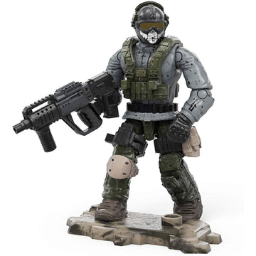 Simon 'Ghost' Riley - Mega Construx Call of Duty Specialist Series 5 Figure Pack