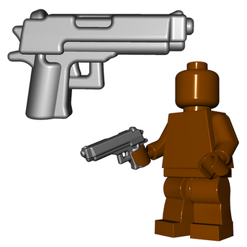 Combat Pistol/Handgun - Brick Warriors