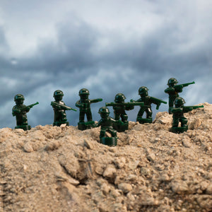 Nano Military Soldiers (Dark Green)