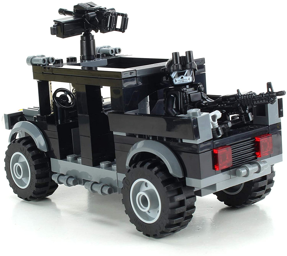 Special Forces Black Operations Gun Truck Military Set made w// real LEGO® bricks
