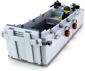 "WW2 Landing Craft ""Higgins Boat"" - Custom LEGO Military Set"