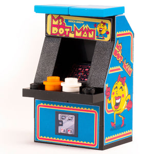 Mrs. Dot-Man - Custom LEGO Arcade Machine