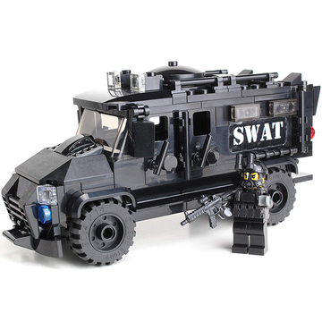 Assault SWAT Truck - Custom LEGO Military Set