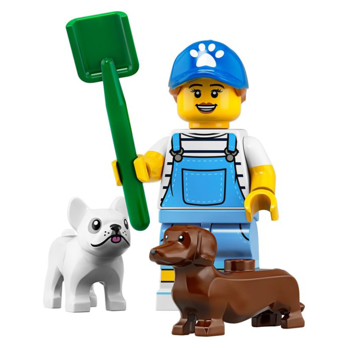 Dog Sitter - LEGO Series 19 Collectible Minifigure