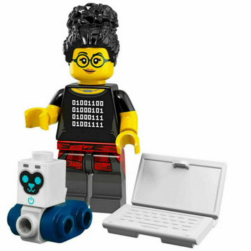Programmer (Female) - LEGO Series 19 Collectible Minifigure