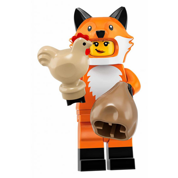Fox Costume Girl - LEGO Series 19 Collectible Minifigure
