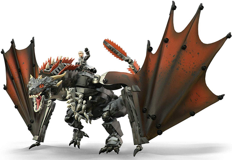 Daenerys & Drogon - Game of Thrones Mega Construx Set