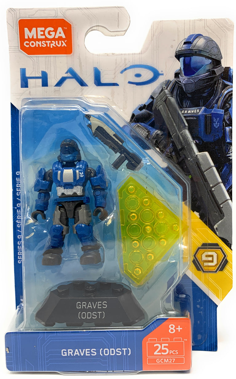 Graves (ODST) - Mega Construx Halo Heroes Series 9 Figure Pack