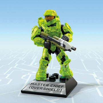 Master Chief (Overshield) - Mega Construx HALO Heroes Series 11 Figure Pack