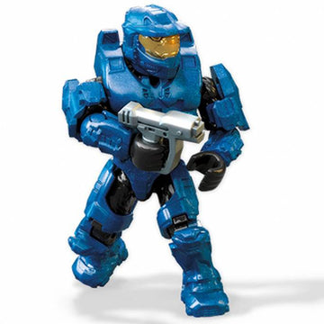 Blue Spartan - Mega Construx Halo Micro Figure (A New Dawn Series)
