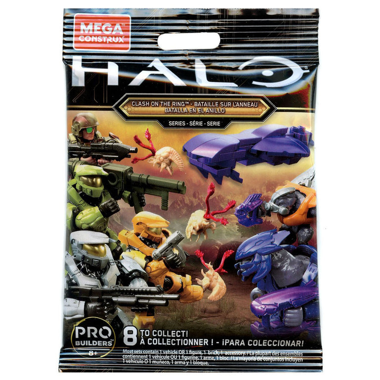 Mystery Pack (Clash on the Ring) - Mega Construx Halo Pack