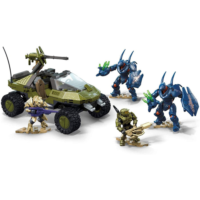 Warthog Run - HALO Mega Construx Set