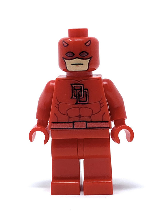 Red Hero - Custom LEGO Minifigure w/ Display Case