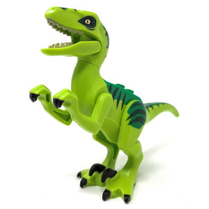 Velociraptor (Green Back) - LEGO® Jurassic World Minifigure