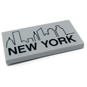 New York City with Skyline - Official LEGO® Part