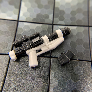 Blaster Cannon, White Trooper Gear - BrickArms