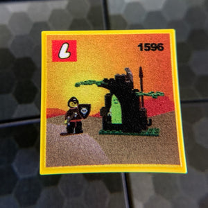 Ghostly Hideout Wolfpack Set 1596 - Custom Printed LEGO 2x2 Tile