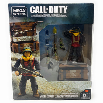 WWII Weapon Crate - Mega Construx Call of Duty Set