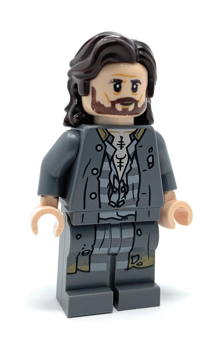 Sirius Black (Prison Clothing) - LEGO Harry Potter Minifigure (2019)