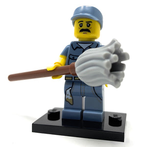 Janitor - LEGO Series 15 Collectible Minifigure (2016)