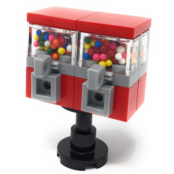 Custom LEGO Double Gumball Machine