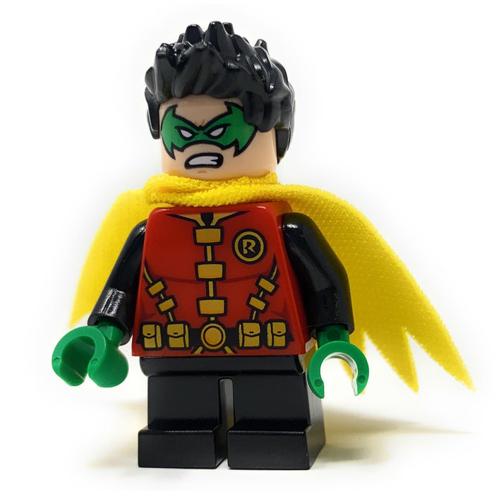 Robin (Green Mask + Hands, Short Legs) - LEGO DC Comics Minifigure (2019)