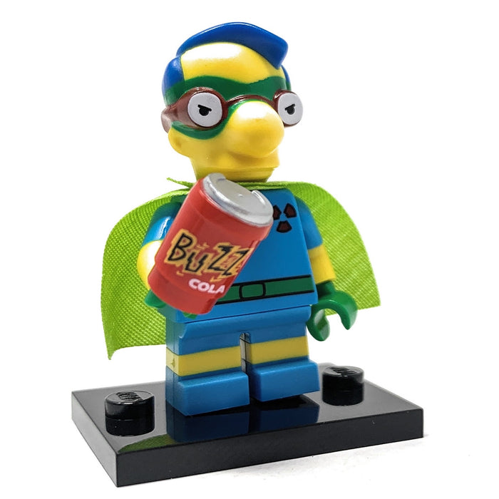 Milhouse (Fallout Boy) - LEGO Simpsons Collectible Minifigure (Series 2) (2015)