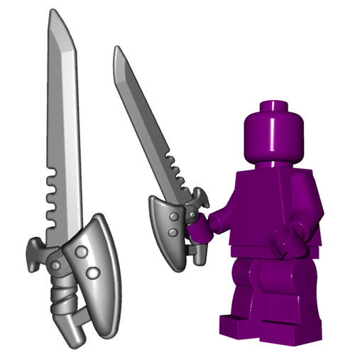 Scavenger Sword - Brick Warriors