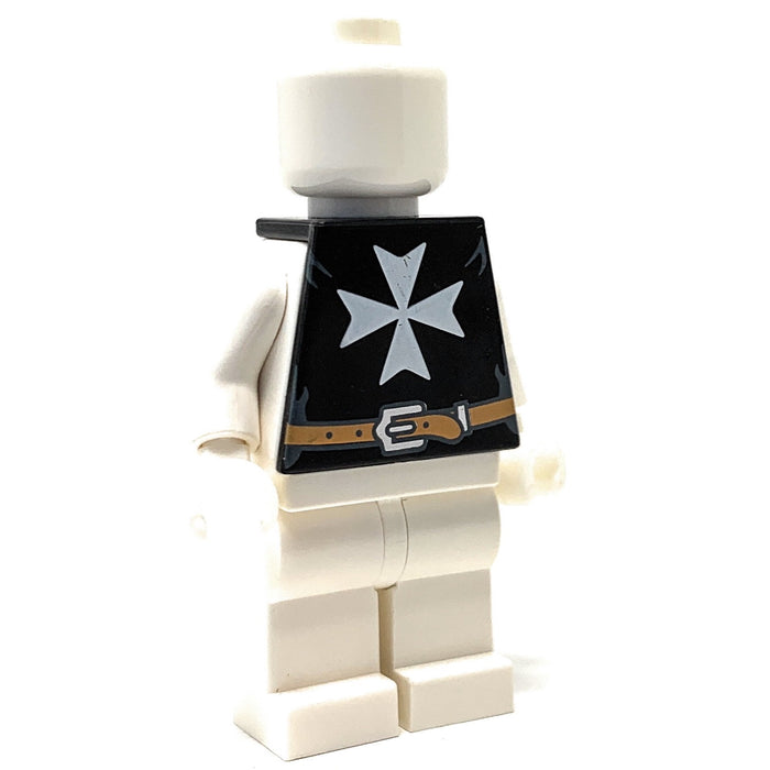 Hospitaller (Castle) Torso Tunic - BrickForge Part for LEGO Minifigures