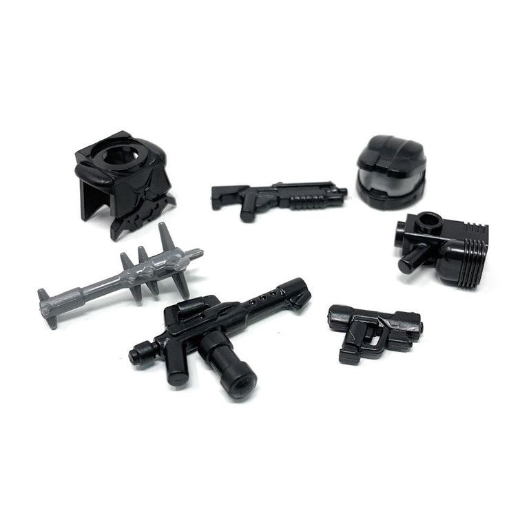 Power Assault (Black) - BrickForge Minifigure Weapons Pack