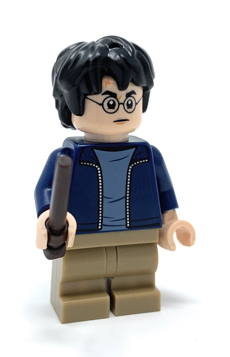 Harry Potter (Blue Jacket) - LEGO Harry Potter Minifigure (2019)