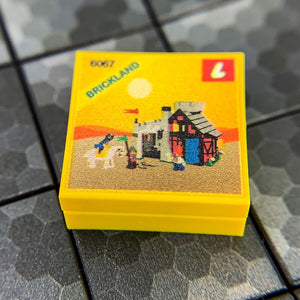 Guarded Inn Set 6067 - Custom Printed LEGO 2x2 Tile