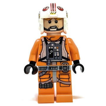 Luke Skywalker (Rebel Pilot)- LEGO Star Wars Minifigure