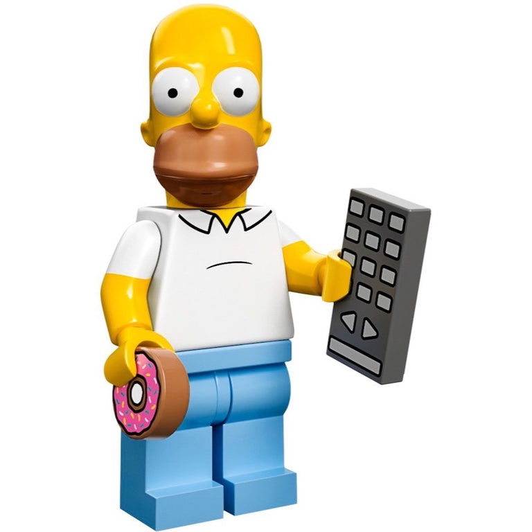 Homer Simpson - LEGO Simpsons Collectible Minifigure (Series 1) (2014)